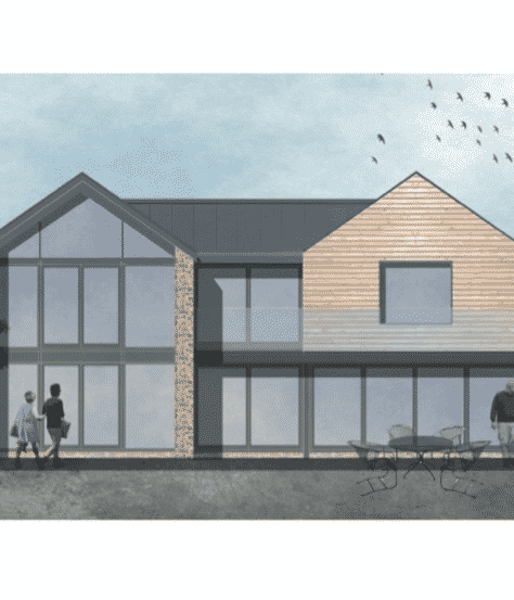 Redevelopment of previously developed site – Bruton, Somerset