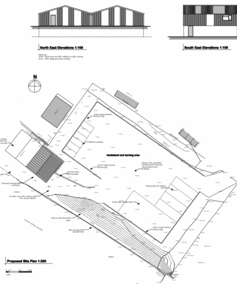Copheap Lane, Warminster – Commercial development