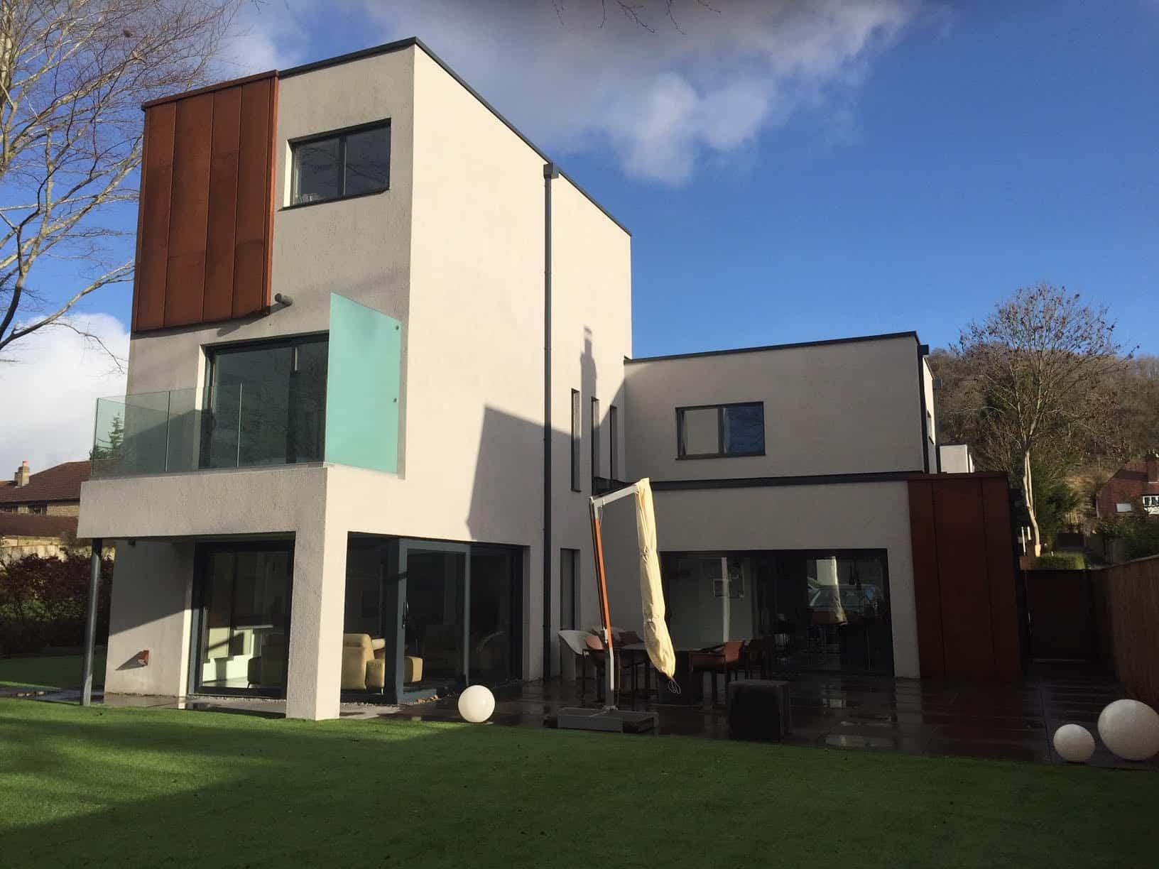 modern housing development won at appeal - Warminster
